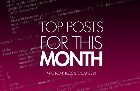 top posts this month